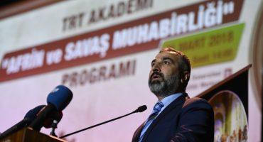TRT Akademi Söyleşileri – Afrin ve Savaş Muhabirliği