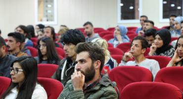 TRT Akademi Van'da öğrencilerle buluştu